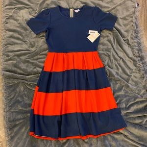 NWT LuLaRoe Amelia Fit & Flare Dress